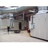 AHU with Delta Heat Exchanger undergoing commissioning